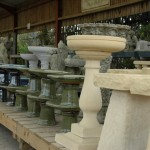 Stone Bird Tables