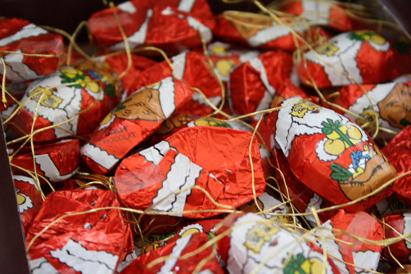 Chocolate Christmas Tree Decorations Asda : Christmas food bellis brothers farm garden centre