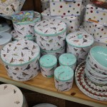 Cake tins and storage jars
