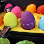 Colourful egg timers