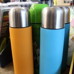 Colourful flasks