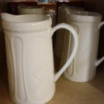 Jugs - white ceramic