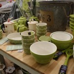 Kitchen sets - green