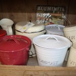 Kitchenware tins