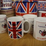 Mugs - Keep calm and carry on design