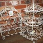 Wine racks and cake stands