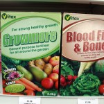 Blood bone and fish fertiliser