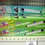 Sonic mole repeller