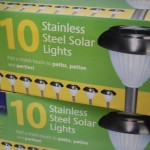 Stainless steel solar lights