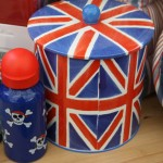 Union jack biscuit barrel
