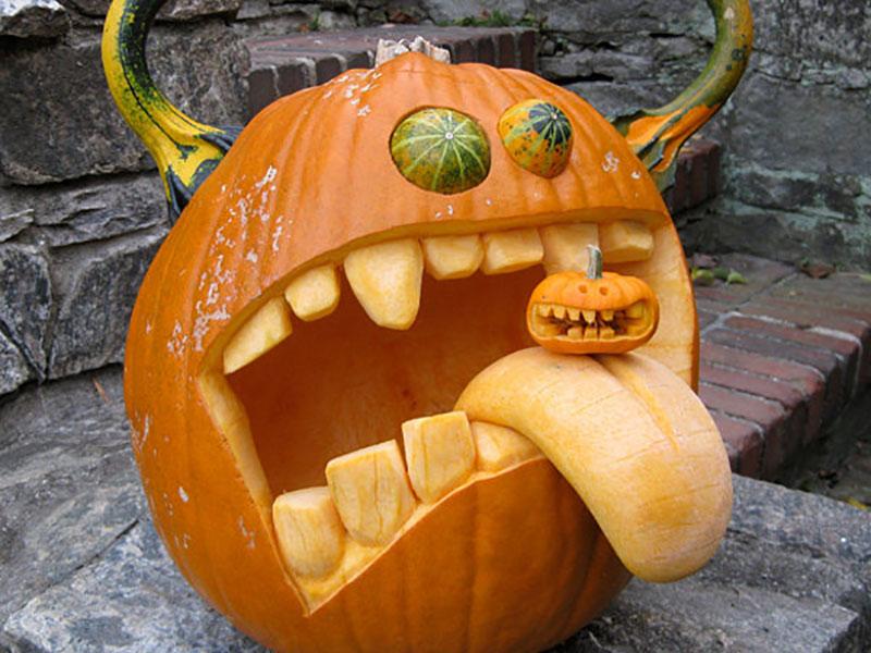 haloween-carving