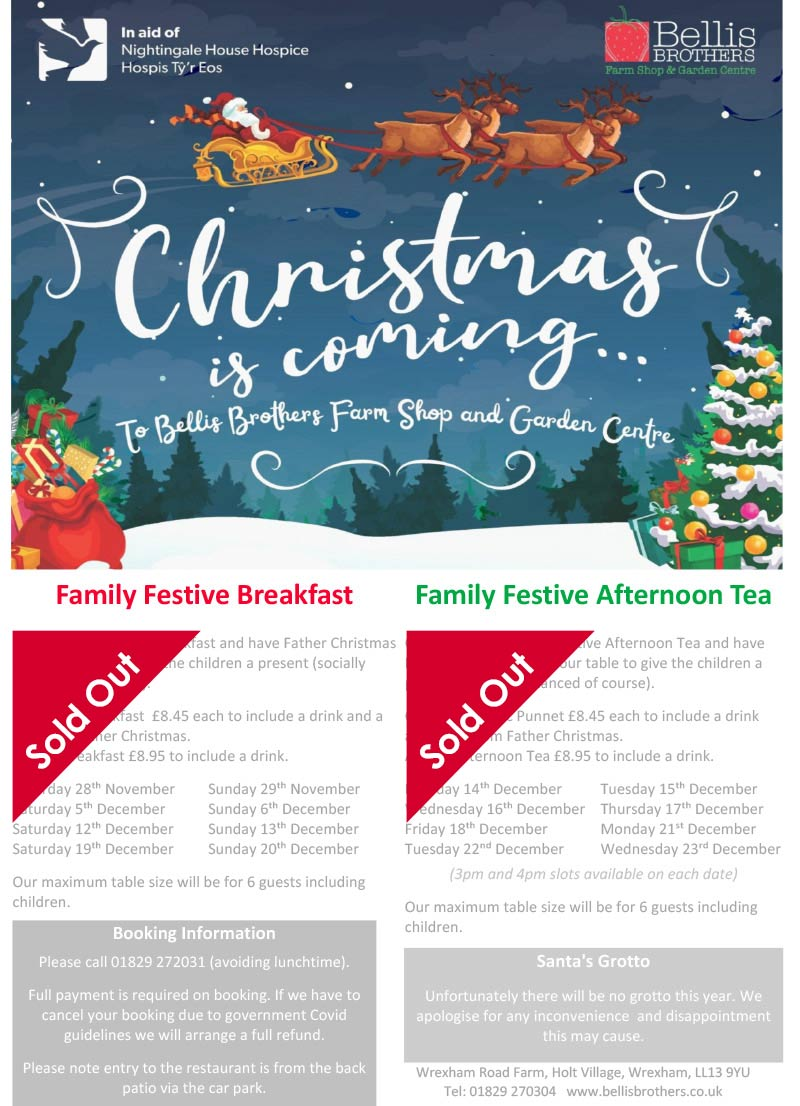 Christmas in the Strawberry Fields Restaurant